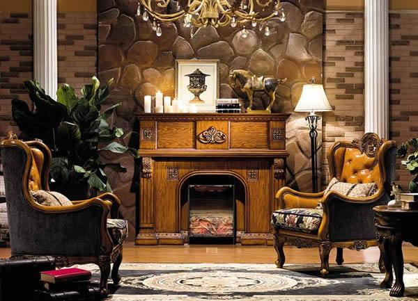 第060期 澳威原木全屋定制家具欣赏 - 壁炉
