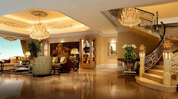 重庆澳威原木全屋定制家具带你欣赏经典楼梯设计