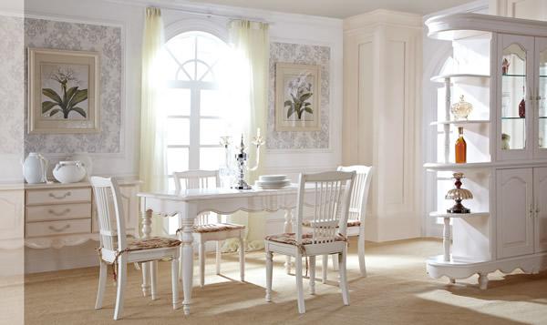 白色家具餐厅